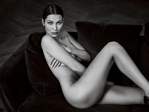 Bella Hadid comments on her nude photo 2