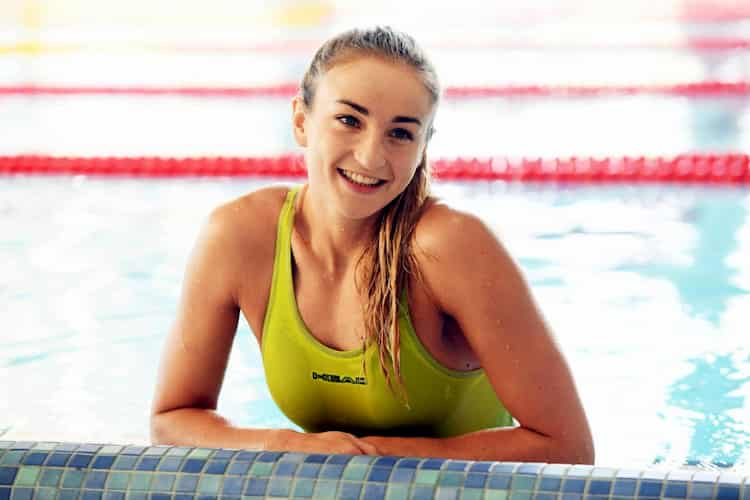 German swimmer Elena Krawzow poses nude for the world famous magazine 1