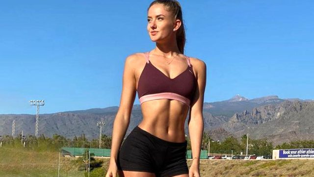 Borussia Dortmund S New Fitness Trainer Alica Schmidt Draws Attention With Her Hot Body Gmspors