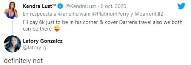 Kendra Lusts cage fighter offered Perry money Fighters lover he didnt agree 2