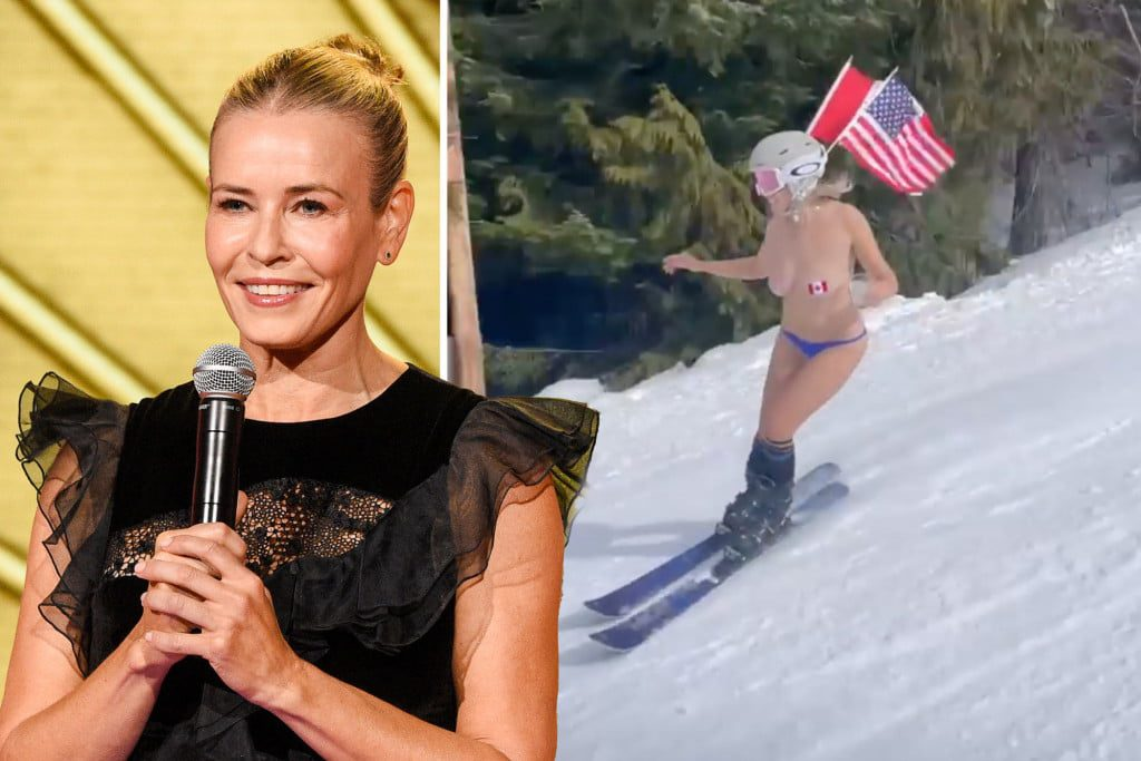 Chelsea Handler surprised us with her nude celebration on her birthday 2