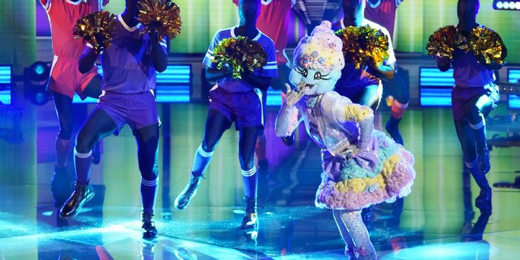 Cotton Candy on The Masked Dancer semifinals