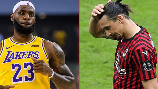 Why did the fight between Zlatan Ibrahimovic and LeBron James break out 1