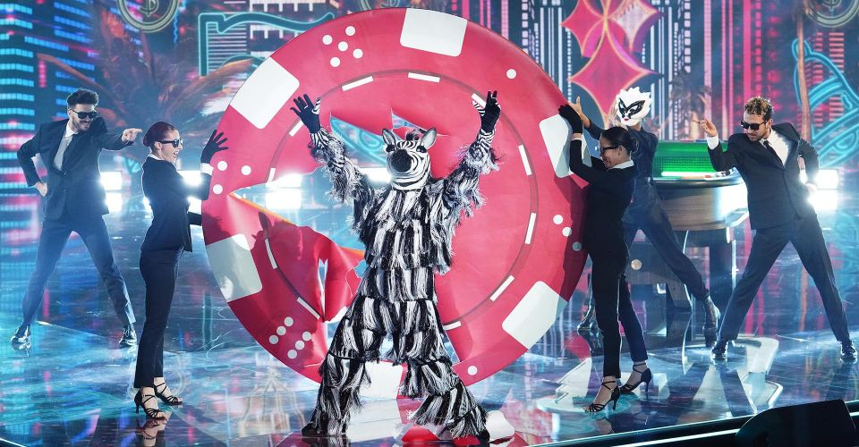 Zebra on The Masked Dancer semifinals
