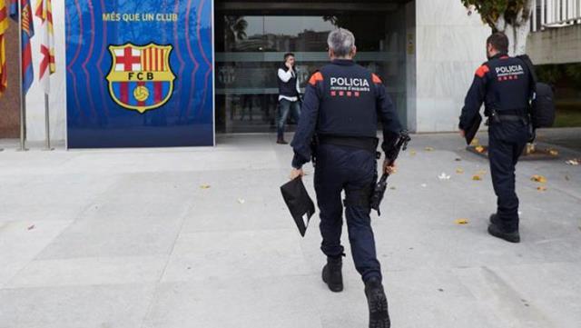 Corruption operation in Barcelona 1