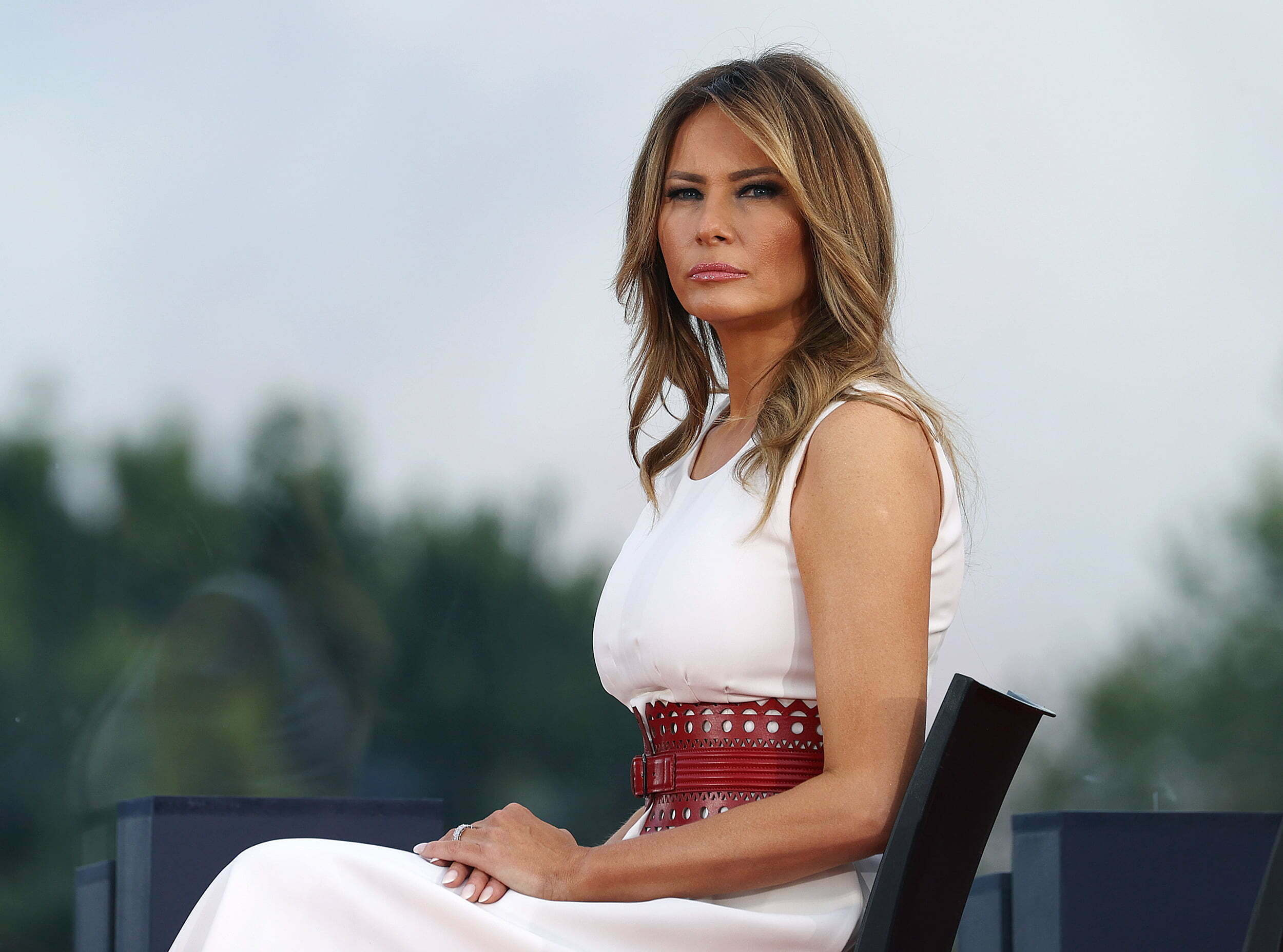 Current version of Melania Trump with modeling photos 1