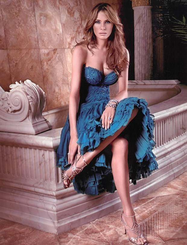 Current version of Melania Trump with modeling photos 2