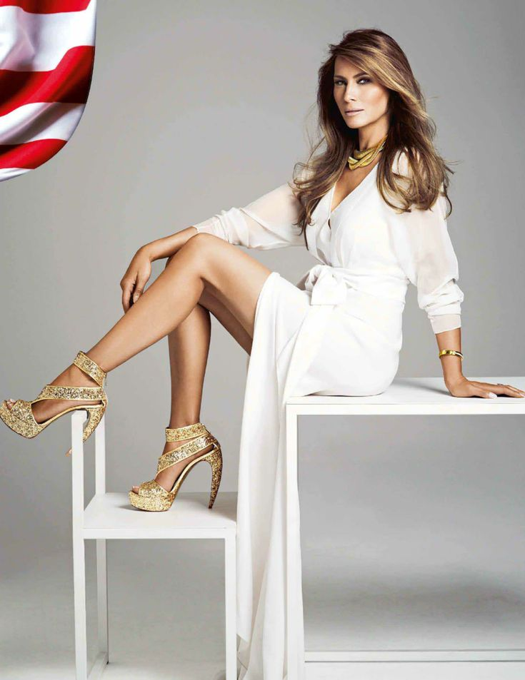 Current version of Melania Trump with modeling photos 3