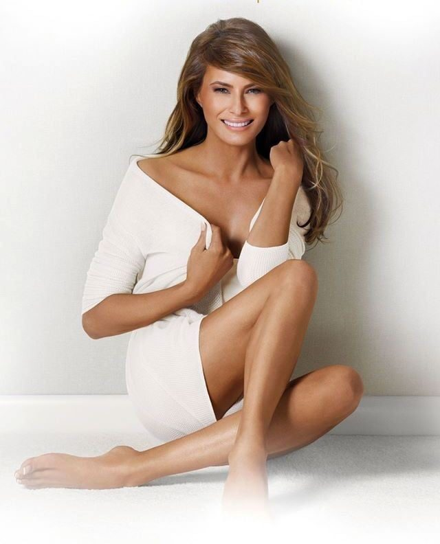 Current version of Melania Trump with modeling photos 4
