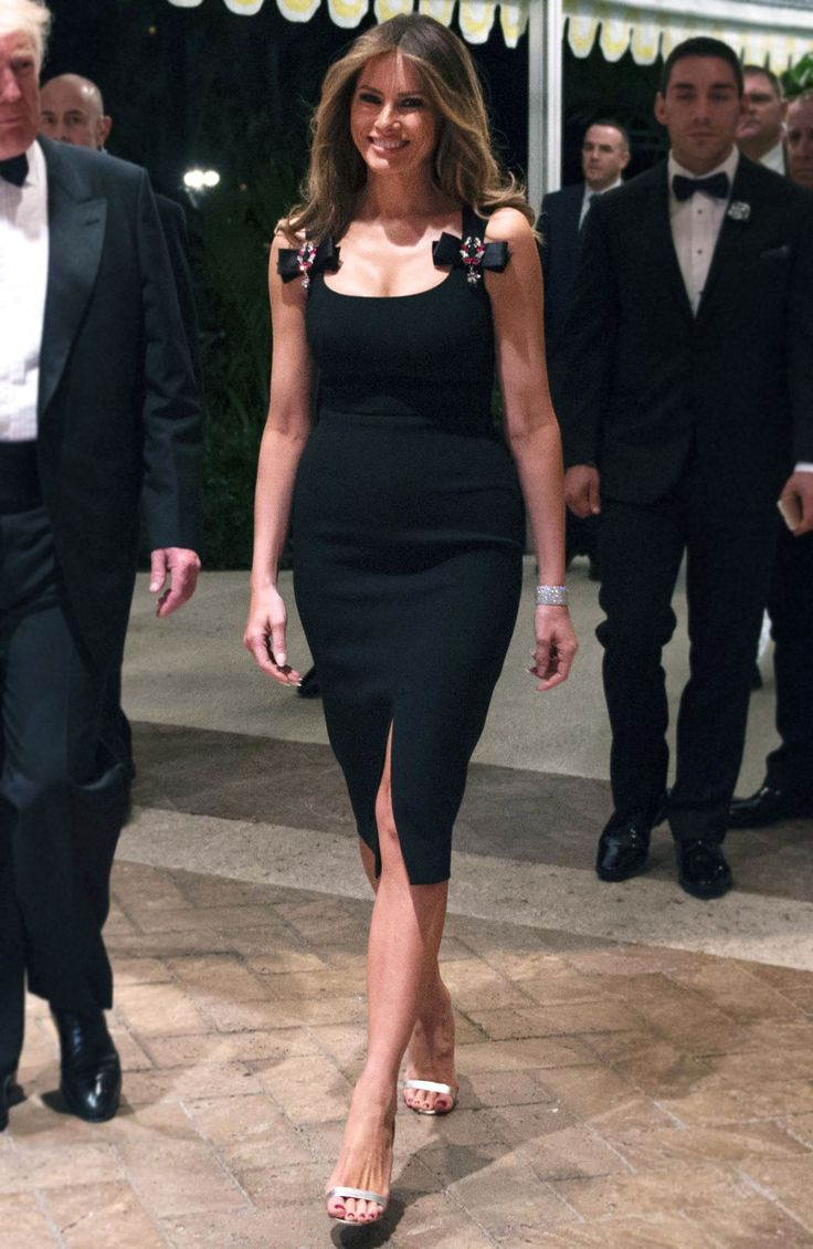 Current version of Melania Trump with modeling photos 7