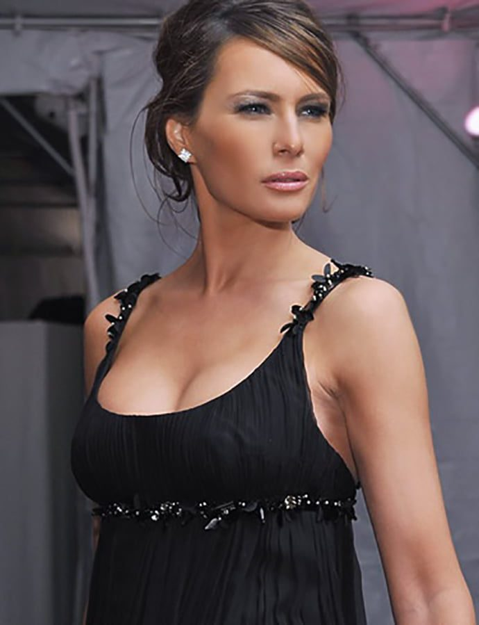 Current version of Melania Trump with modeling photos 8
