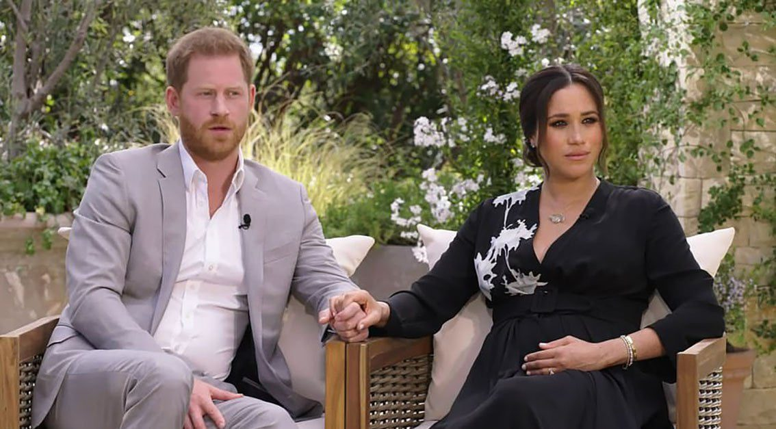 Detail in interview with Meghan Markle and Harry drove the British crazy 1