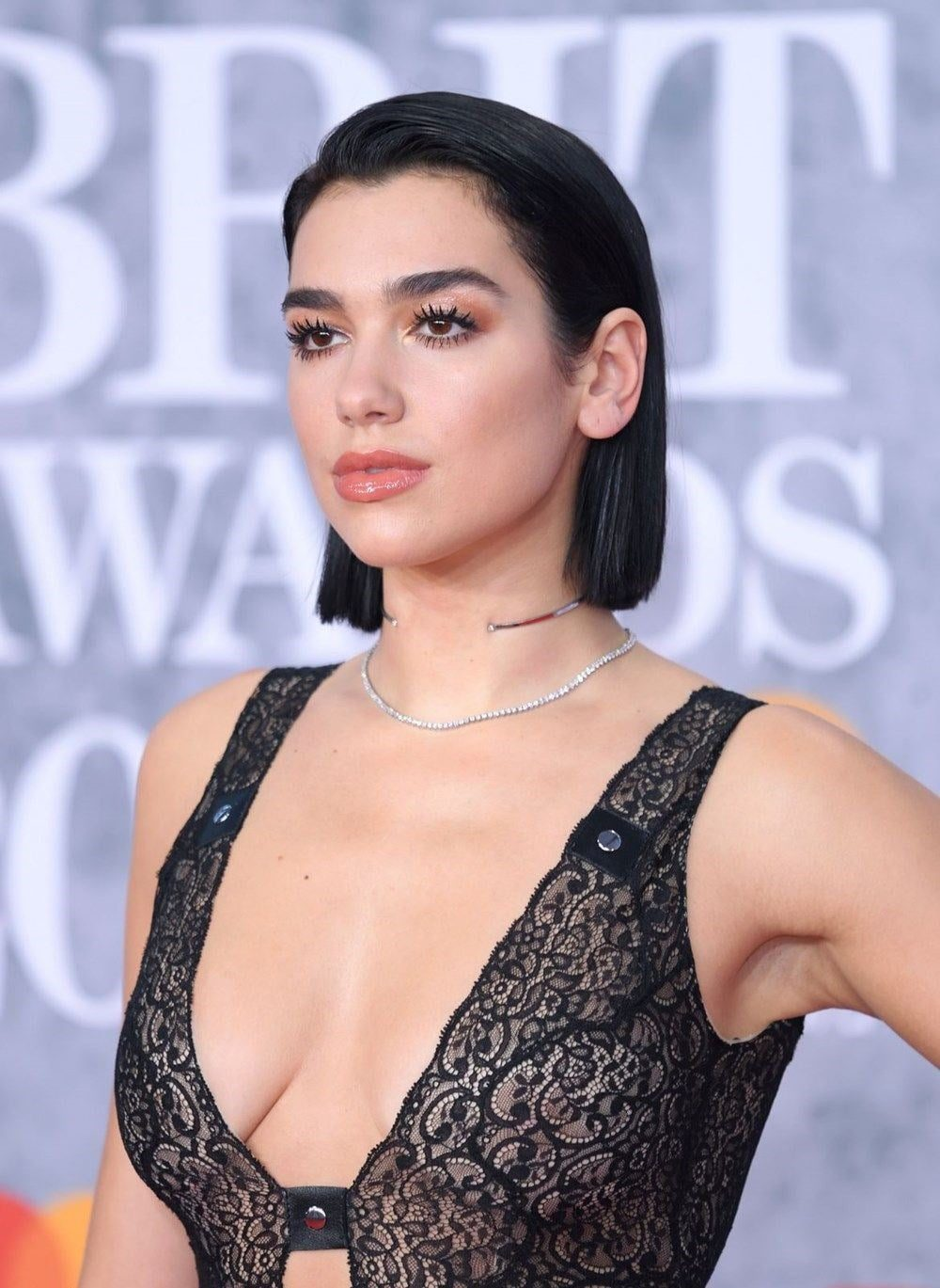 Images of Dua Lipa who was attacked by a fan appeared 1