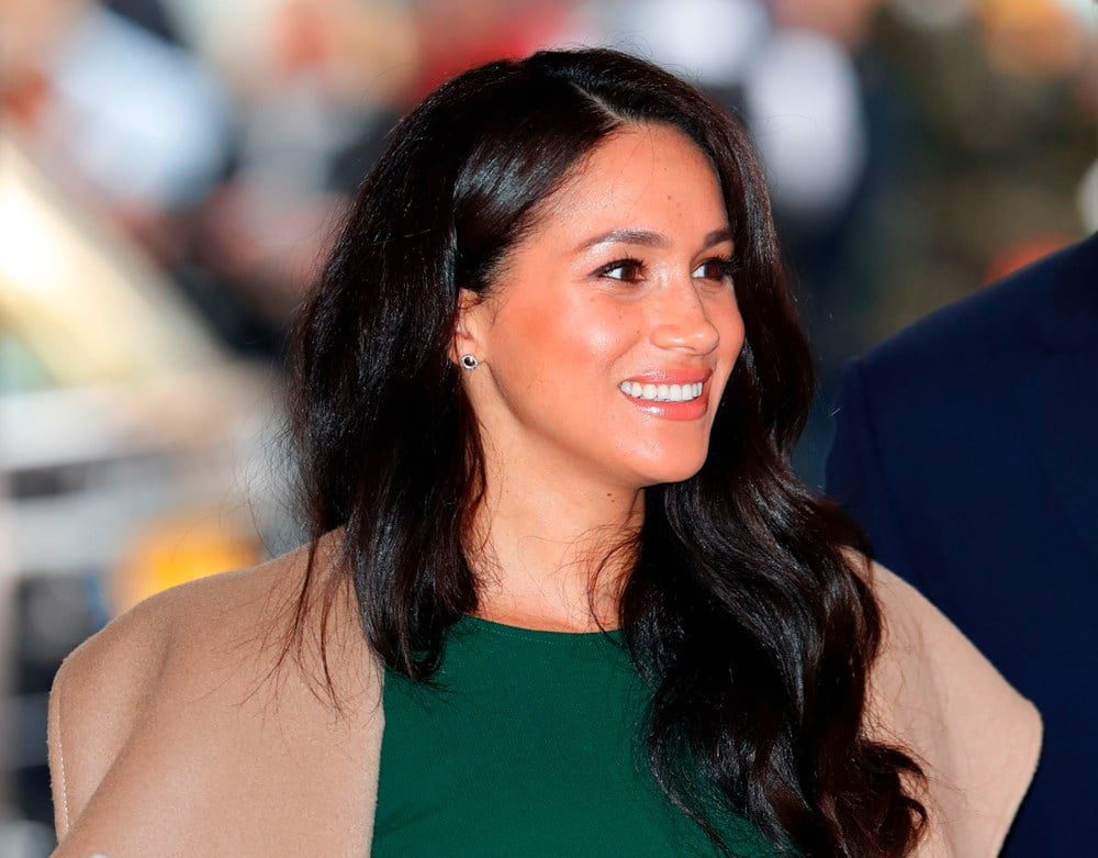 Meghan Markle being followed by Detectives 3