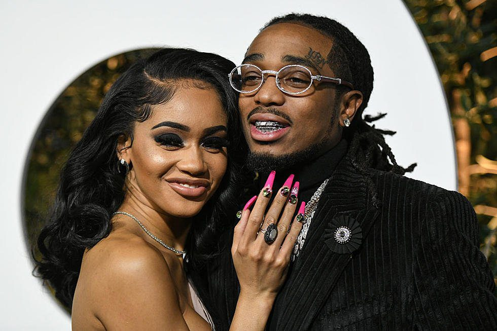 New images Rappers Saweetie and Quavo argue in the elevator 1