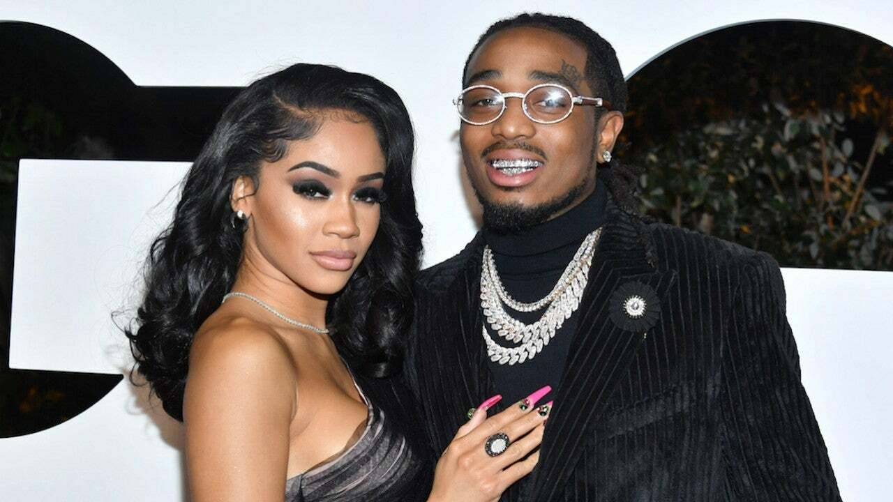 New images Rappers Saweetie and Quavo argue in the elevator 2