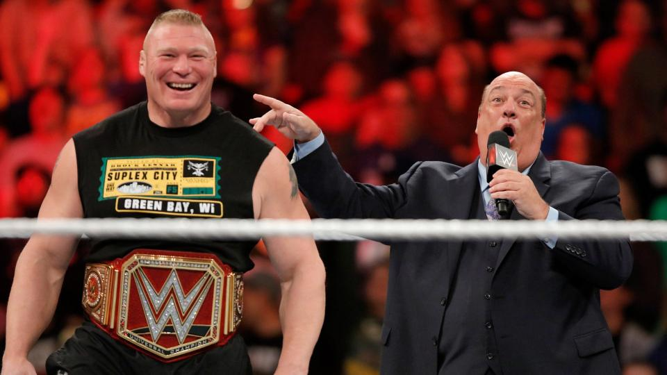 Paul Heyman Gives An Update On His Current Equation With Brock Lesnar 1