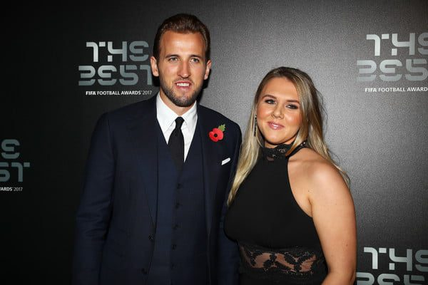 Who is Harry Kanes wife Katie Goodland 2