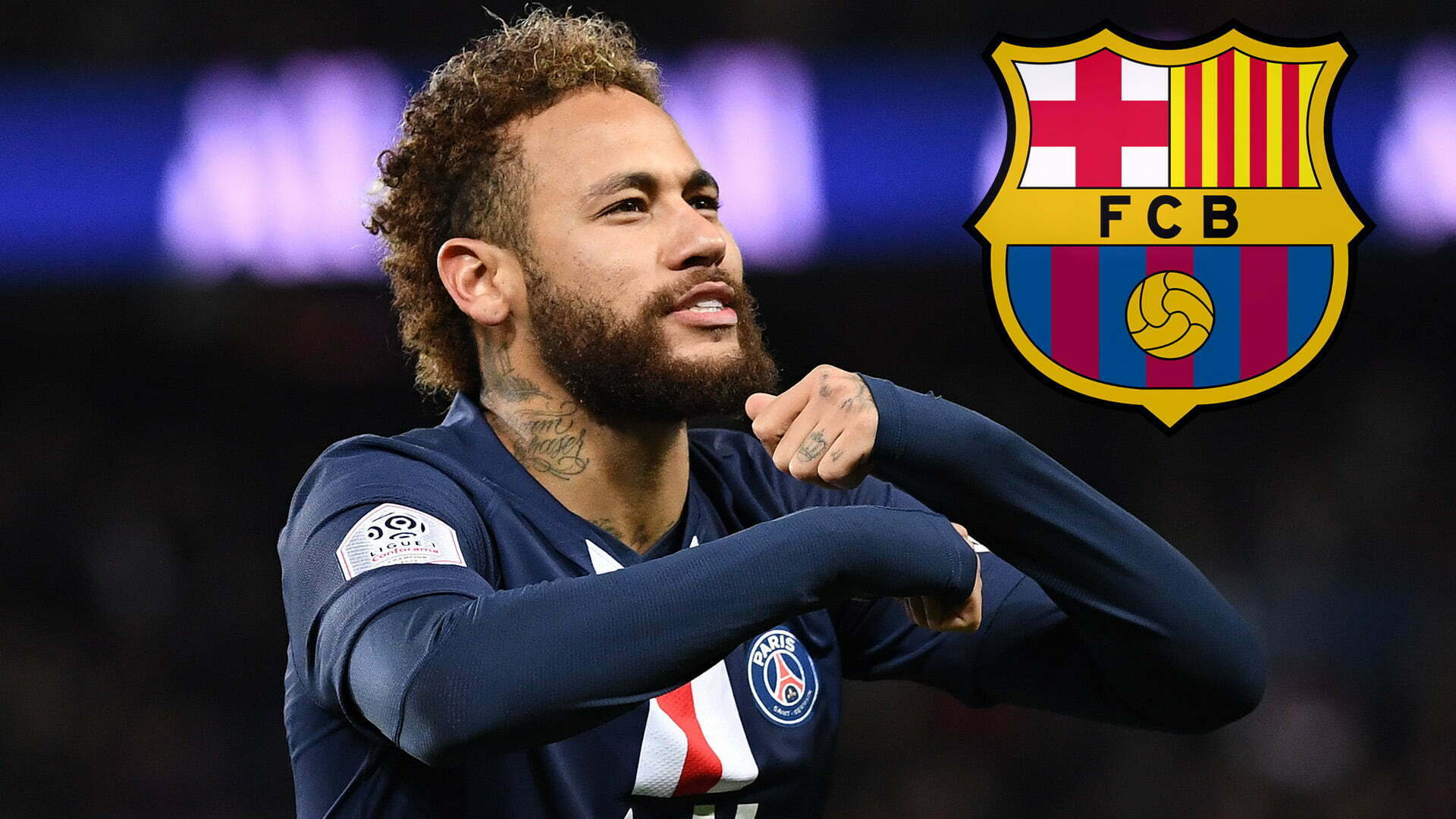 Will Neymar be on the pitch during the PSG vs Barcelona match 1
