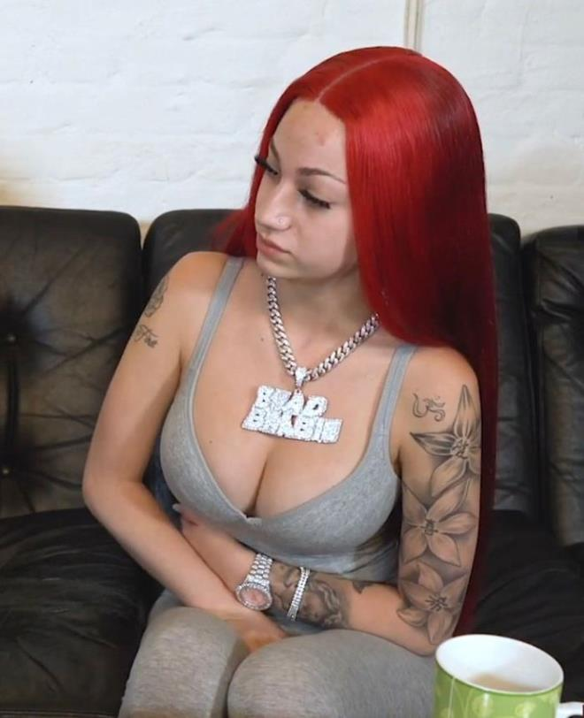 Bhad bhabie starts selling half nude photos of her climax for net worth 4