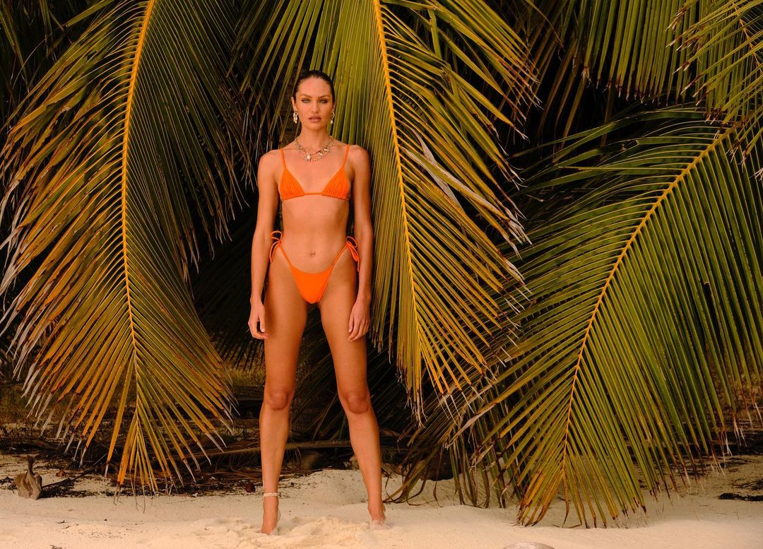 Candice Swanepoel captivates with her hot physique in a bikini she posts on Instagram 1