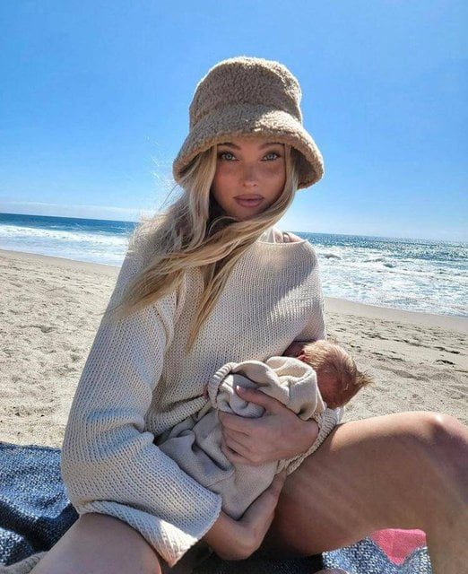 Elsa Hosk Breasts are there for us to feed our kids 4