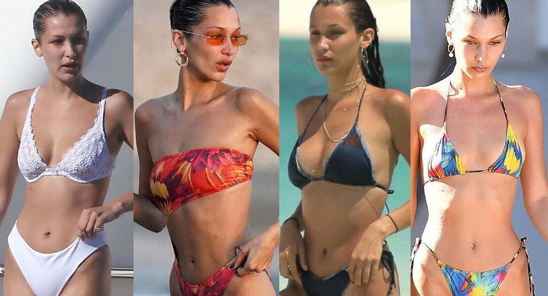 Hottest photos of supermodel Bella Hadid 16