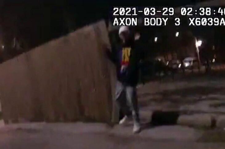 Images of police killing 13 year old Adam Toledo appear in the USA 1