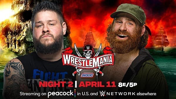 Kevin Owens and Sami Zayn Their Fight Resonating at WWE WrestleMania 37 3