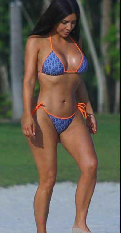 Kim Kardashians Sexiest Bikini Photos 15 1