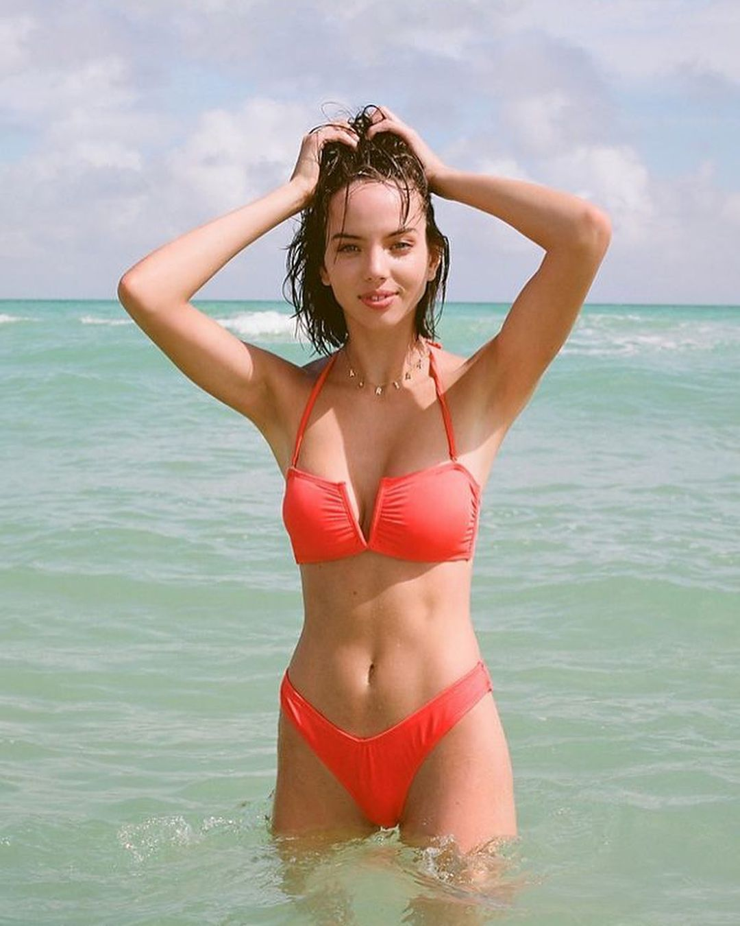 Model Adriana Mora is quickly becoming popular on Instagram 7