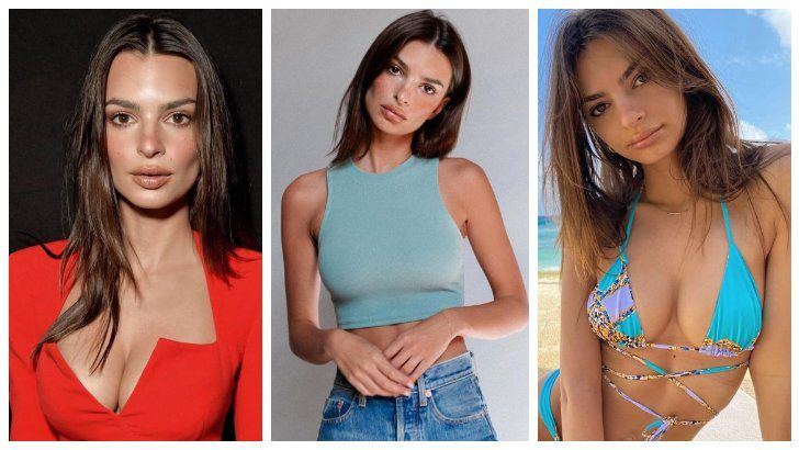 Photos of the popular American model Emily Ratajkowski with her nude work 3