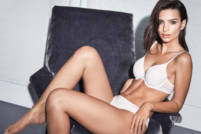 Photos of the popular American model Emily Ratajkowski with her nude work 7