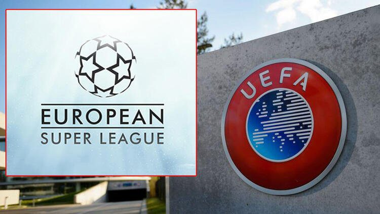The European Super League was officially established war broke out UEFA ban decision move 2