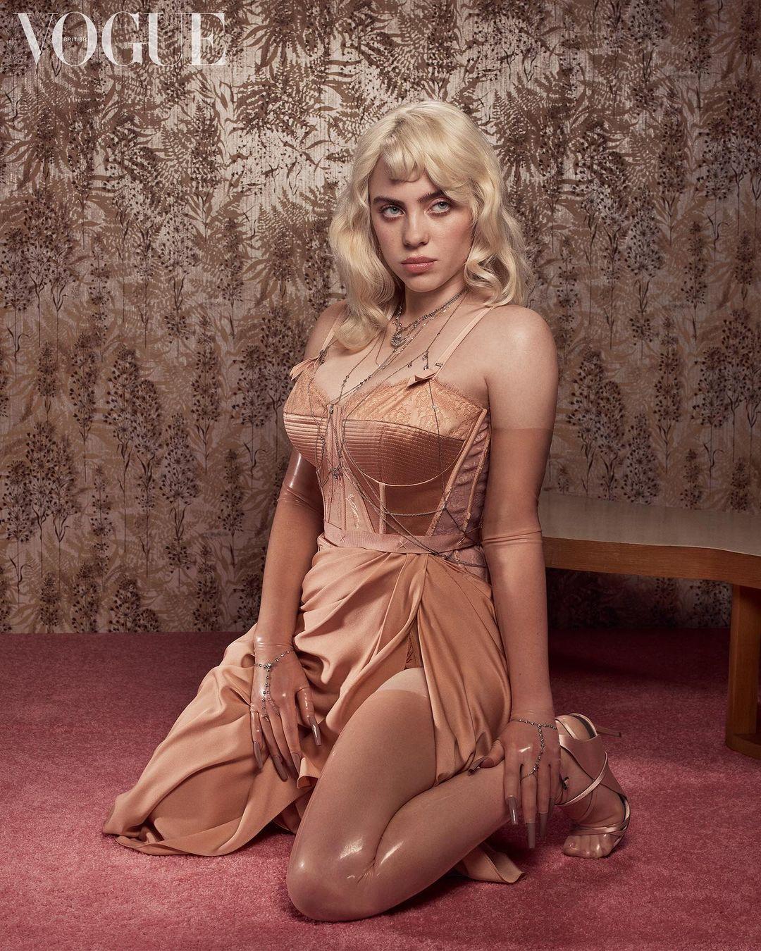 Billie Eilish Vogue Photo Shares Set Records 2
