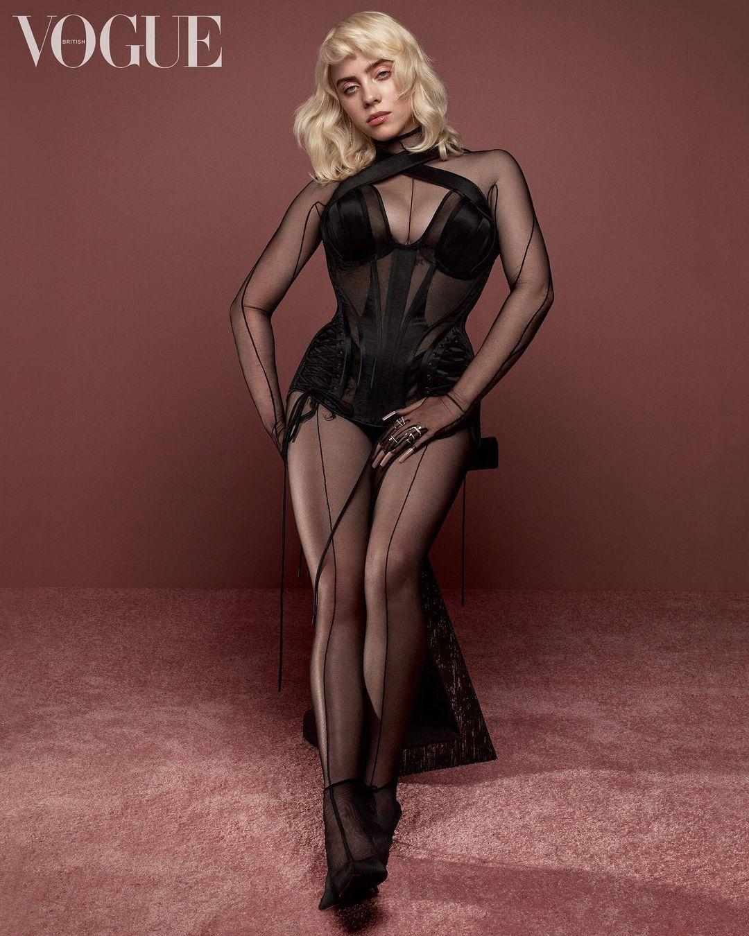 Billie Eilish Vogue Photo Shares Set Records 7