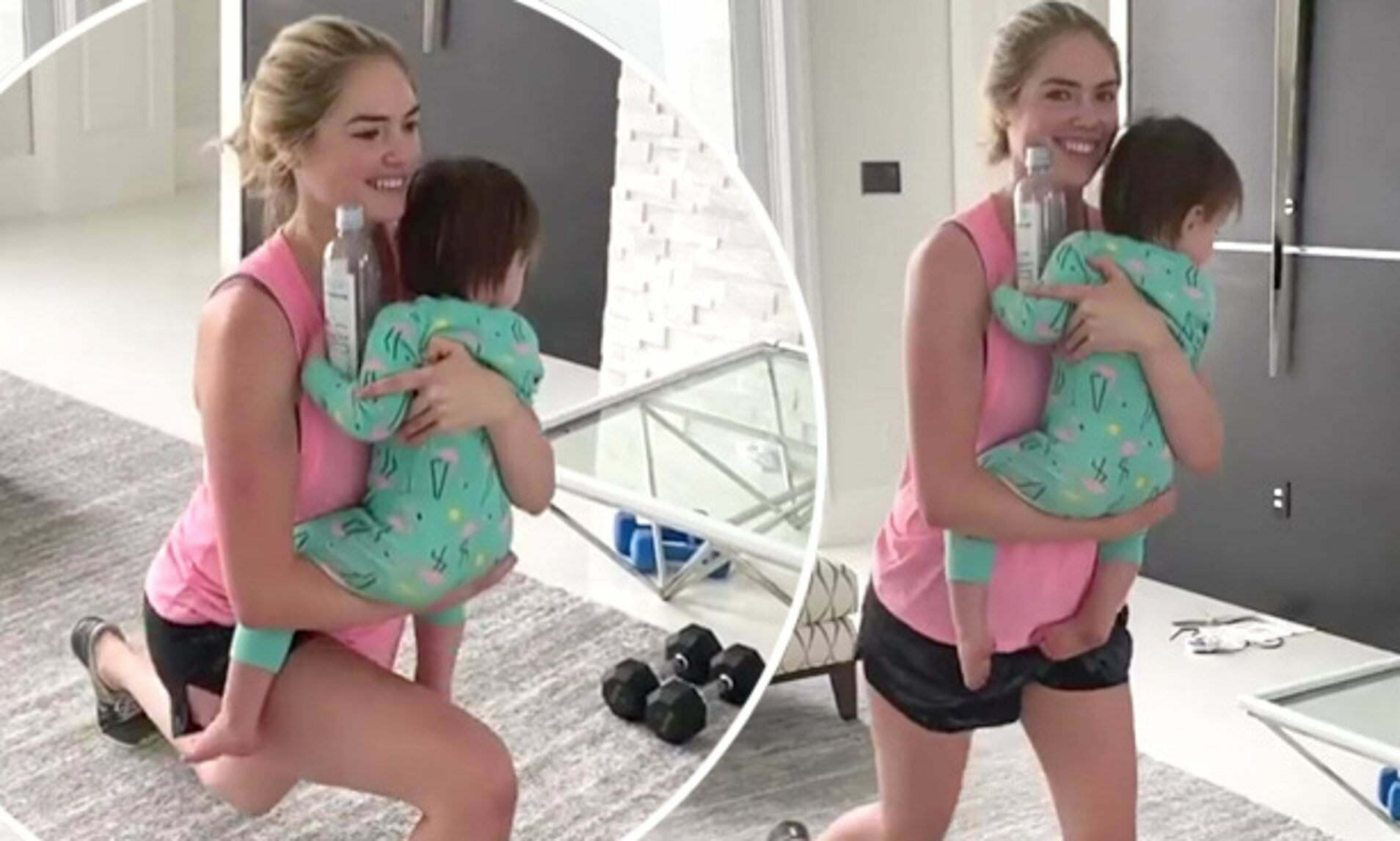 Exclusive Photos of Kate Upton her little daughter Genevieve 5