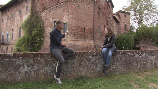 Italian castle in the Middle Ages now TikToks most popular star 2