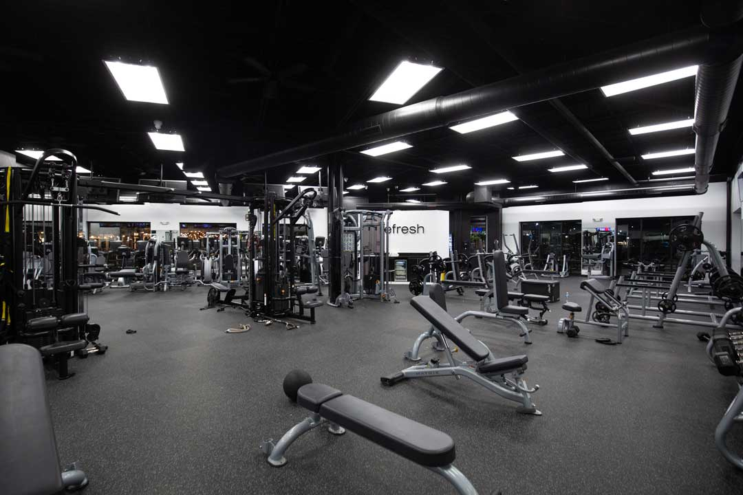 Listed as one of the most popular gyms in America Avolve fitness 1