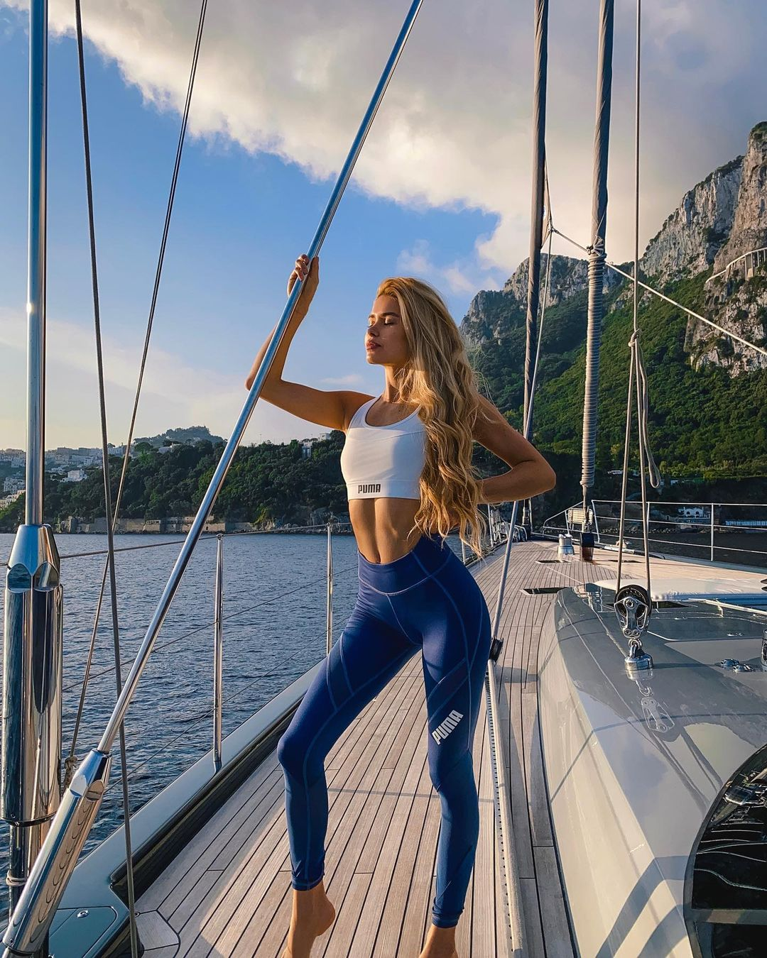Who is Pamela Reif Pamela Reif Fascinated With Her Physique 6