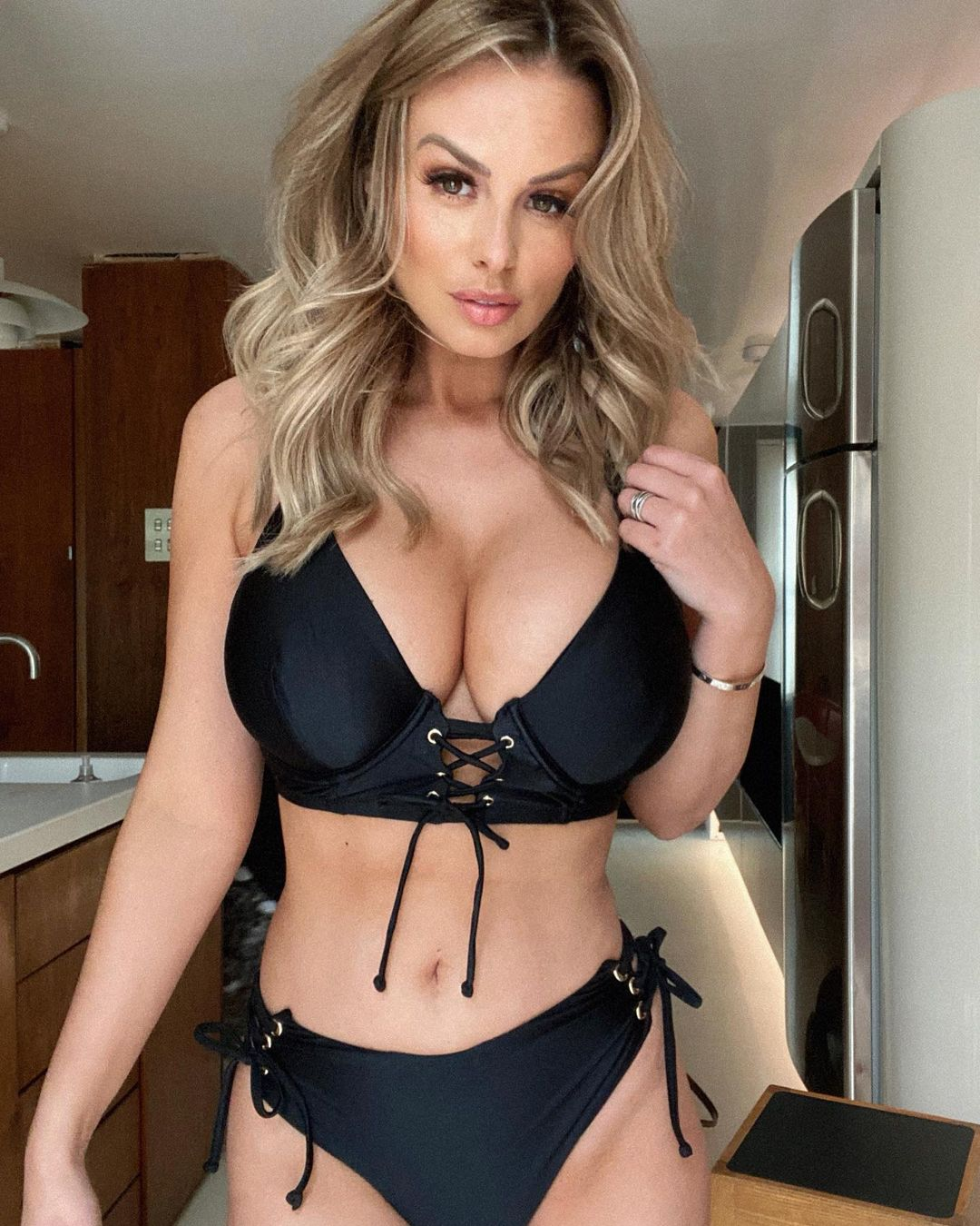 Who is Rhian Sugden Immoral offer to the famous model 4