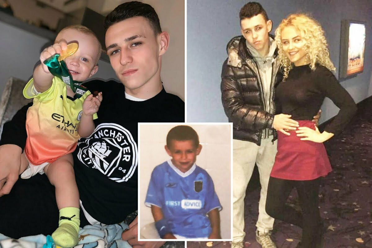Did you know that Phil Foden has a wife and 2 children 1