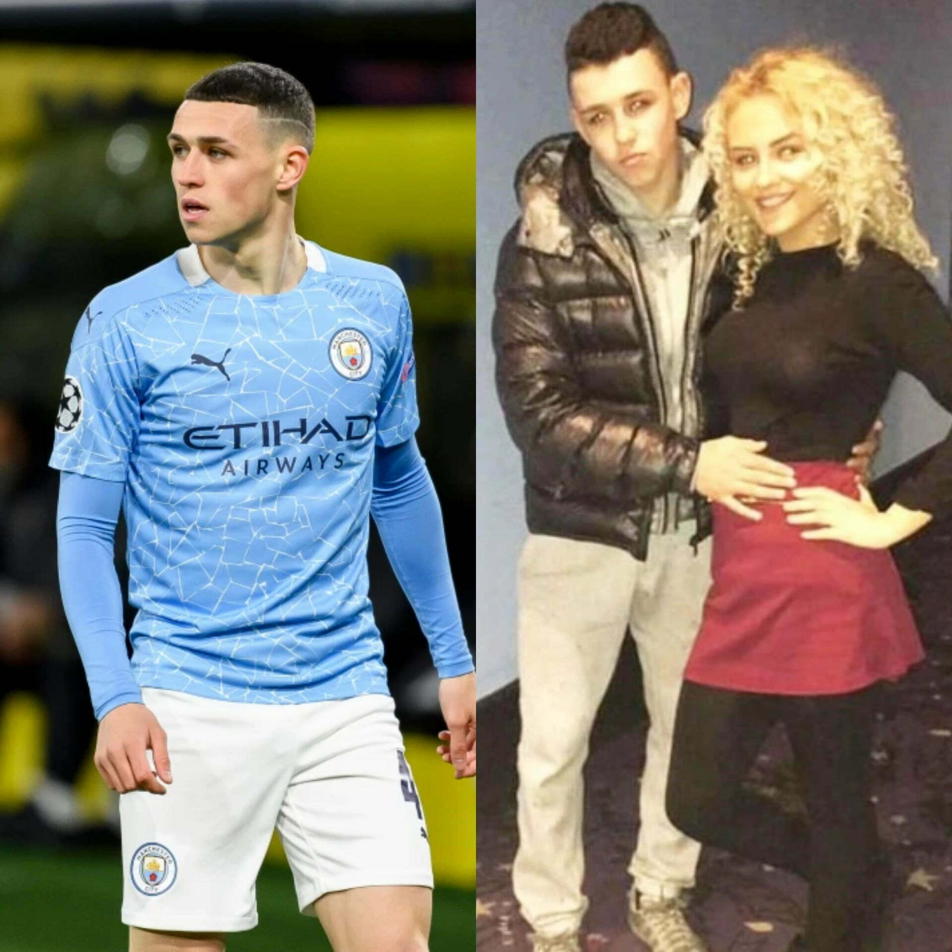 Did you know that Phil Foden has a wife and 2 children 2