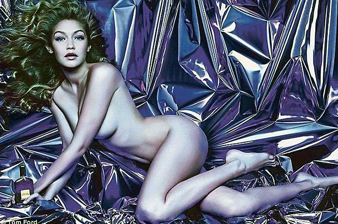 Gigi Hadid is a model that captivates her beauty with her nudity 12 11