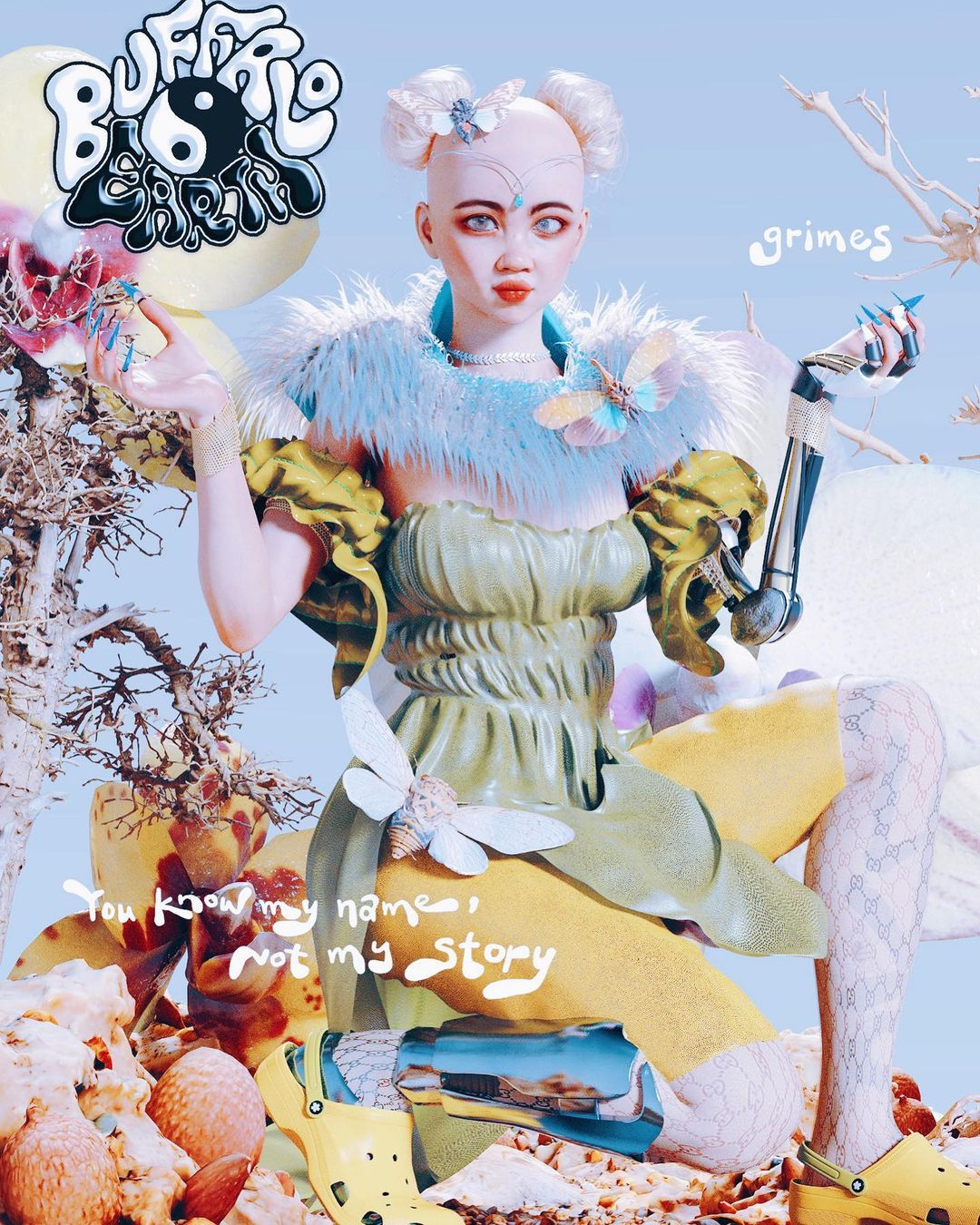 Grimes mixes explanations of artificial intelligence and communism in her latest video on tiktok