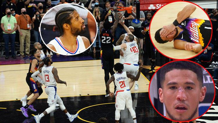 Incredible ending to the Suns v Clippers game in the NBA