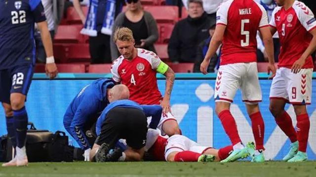 It was alleged that UEFA pressured the match to continue at the moment Christian Eriksen was fighting for his life 2