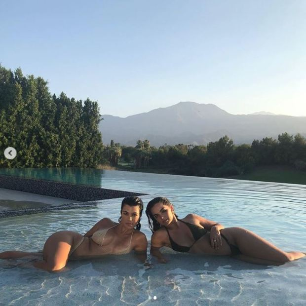 Kourtney Kardashian 42 eats eight cookies a day with her 20 year old BFF Addison Rae 8
