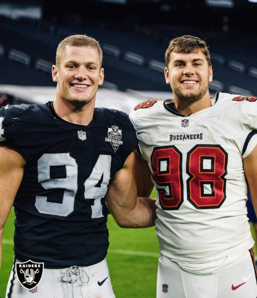 NFL player Carl Nassib reveals he is gay in a video 3