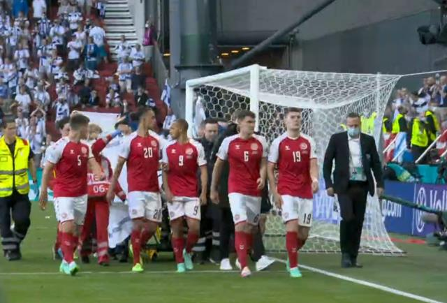 What happened to Christian Eriksen There is drama in the Denmark Finland match 1